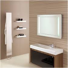 Bathroom Vanity Mirrors Canada by Entry Mirror With Floating Shelf Terrific Modern Black Bathroom