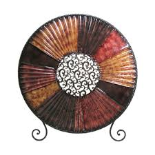 decorative charger plates with stand