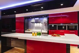 cuisine moderne et noir deco et noir chambre blanc gris et with deco