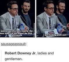 Tony Stark Meme - you mean tony stark prentending to be robert downey jr the mcu