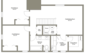 finished basement floor plans floor plans for a house house floor plans with estimated cost to