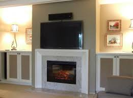 Fireplace Electric Insert Remodel Of A Brick Wood Burning Fireplace With Electric Insert And