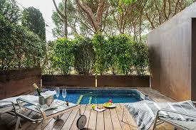 hotel piscine dans la chambre hôtel avec piscine dans la chambre hôtel nm suites à platja d aro