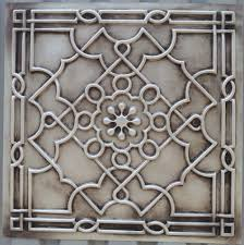 Tin Ceiling Tiles For Backsplash - pl09 finishing antique white faux tin ancient ceiling tiles
