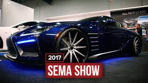 lexus black 2017 lexus shows off a gorgeous black panther inspired lc 500 at sema