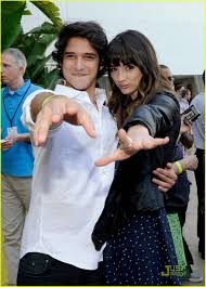 cocktail party photography tyler posey u0026 crystal reed teen wolf tca cocktail party photo
