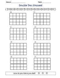 ten frame worksheets printables 28 templates ten frames rowdy