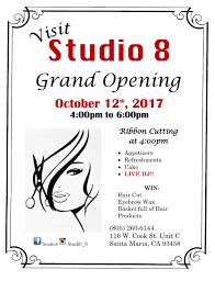 studio 8 grand opening u2013 santa maria chamber news