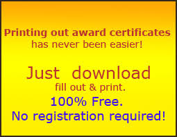 certificate templates free printable certificate templates