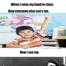 Raising Hand Meme - raising my hand by thebronyfox meme center