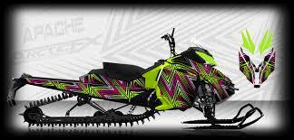 arcticfx graphics releases 2014 custom sledwrap designs