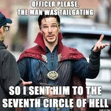 Meme Daily - you dont piss off a supreme sorcerer on his daily commute meme guy