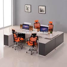 file cabinet office desk custom made face to face partition workstations 4 people staff desks