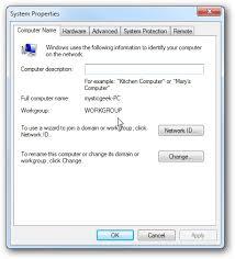 membuat video streaming dengan xp share files and printers between windows 7 and xp