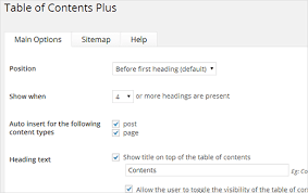 table of contents generator how to create a table of content in wordpress posts and pages