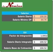 cmo calcular el salario diario integrado con sueldo excel el conta punto com página 4