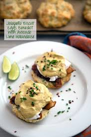 cuisine hollandaise jalapeño biscuit eggs benedict we are not martha
