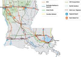 Louisiana Parishes Map by Maps