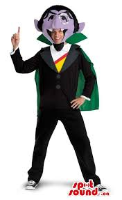 Muppet Halloween Costumes Large Dracula Muppet Character Size Costume Ma Sale