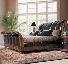 sleigh bed king for men home decor and furniture