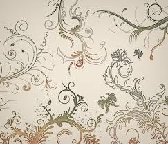 5 floral ornaments vector free vector graphics all free web