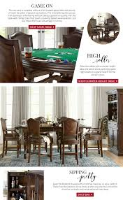 Havertys Furniture Dining Room Table by Casino Royale Get This Look
