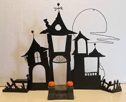 2003 hallmark 9 ornament display haunted house w sound 3