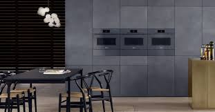 Design Line Kitchens by Artline Built In Appliances With Touch2open Miele