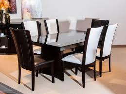 Homelegance Dining Room Furniture Homelegance Daisy Rectangular Dining Table With Glass Insert Set