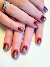shellac glitter nail polish cnd shellac nail art glitter fade