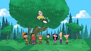 phineas and ferb s01e10 get that bigfoot outa my face tree to get