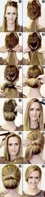 Hochsteckfrisurenen Zum Selber Machen Schulterlange Haare by 100 Hochsteckfrisurenen Kinnlanges Haar Selber Machen