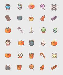 halloween icons free cute icons for halloween on behance