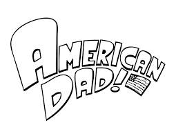 dad logo coloring pages for kids print coloring pages