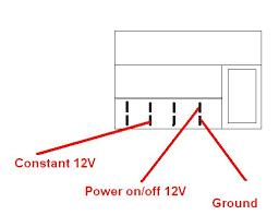 permanent 12v and the ignition 12v on 2000 mercedes e320 for