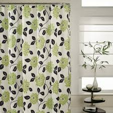 Grey Green Shower Curtain Delighful Black And Green Shower Curtains Inspiration Rodanluo S To
