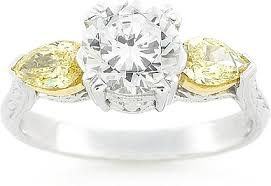 fancy yellow diamond engagement rings tacori fancy yellow diamond engagement ring ht2247