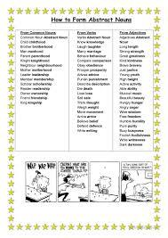 Nouns Worksheet 5 Free Esl Abstract Nouns Worksheets