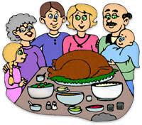 thanksgiving family dinner clipart 101 clip