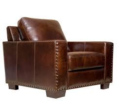 Leather Armchair Amazon Com Abbyson Beverly Hand Rubbed Leather Armchair Home