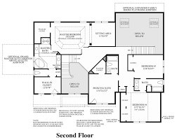 Large Master Bathroom Floor Plans Westridge Estates Of Canton The Columbia Ii Home Design
