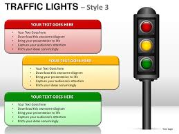stoplight report template traffic lights style 3 powerpoint presentation templates