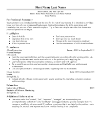 free resume template management resume templates to impress any employer livecareer