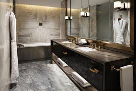 yabu pushelberg waldorf astoria beijing lighting bathroom design