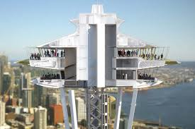 space needle s renovation project begins architect magazine