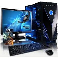 pack ordinateur de bureau vibox pack 2 pc gamer amd 4 gtx 1050 ti gaming