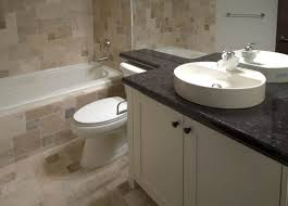 Contemporary Bathroom Vanity Cabinets Furniture White Wooden Vanity Cabinet With Round White Sink