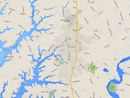 Easton Town Center Map Maps And Directions To Maryland Eastern Shore Towns