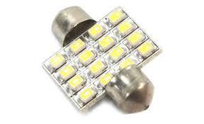 led light bulbs for cars 31mm 16 led car ceiling dome door light bulb tmart
