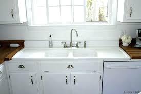 Antique Porcelain Kitchen Sink Fashioned Kitchen Sinks For Retro Kitchen Sink Best Of